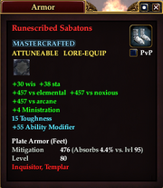 Runescribed Sabatons