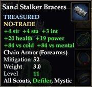 Sand Stalker Bracers