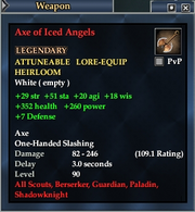 Axe of Iced Angels
