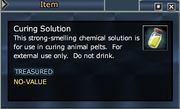 Curing Solution