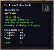Deckhand Labor Boots