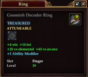 Gnomish Decoder Ring