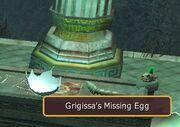Grigissa's (broken) Egg