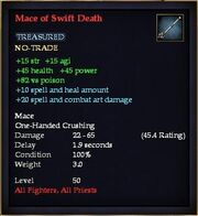 Mace of Swift Death