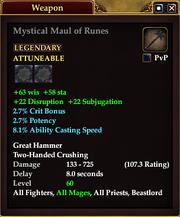 Mystical Maul of Runes