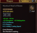 Mystical Maul of Runes