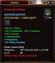 Restorative Boots