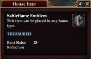 Sableflame Emblem