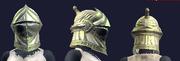 Scythewarden Skullcap (Equipped)