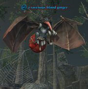A ravenous blood gorger