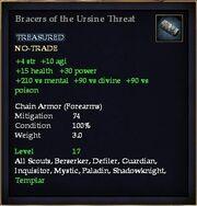 Bracers of the Ursine Threat
