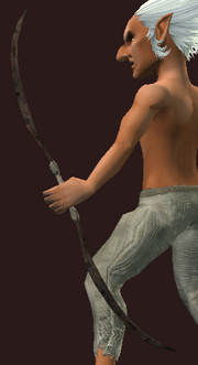 Coin Court's Bow of Pain (Equipped)