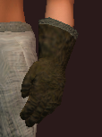 Wanderer's Rare Hide Leather Gloves (Equipped)