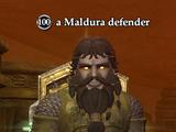 A Maldura defender