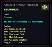 Advanced Armorer Volume 21