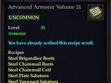Advanced Armorer Volume 21