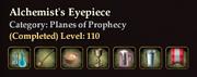 Alchemist's Eyepiece collection