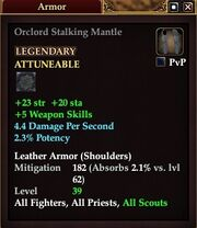 Orclord Stalking Mantle