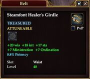 Steamfont Healer's Girdle
