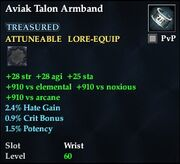 Aviak Talon Armband