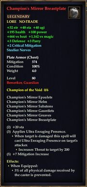 Champion's Mirror Breastplate