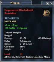 Empowered Blackshield Bandolier