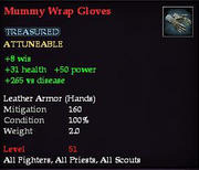 Mummy Wrap Gloves