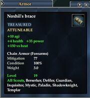 Noxhil's brace