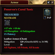 Preserver's Cured Tunic