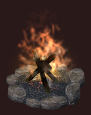Pygmy Fire Pit (Visible)