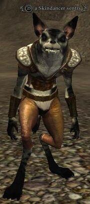 Skindancer sentry