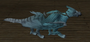 Snow Gryphon (House Item) (visible)