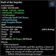 Staff of the Impaler