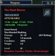 The Heart Reaver