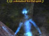A disturbed Teir'Dal spirit