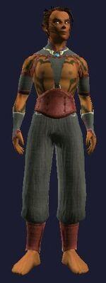 Abandoned Gi of the Jin Drake (Visible, Male)