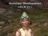 Assistant Shortspanner