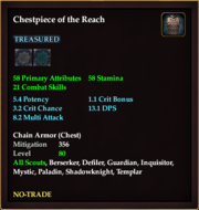 Chestpiece of the Reach