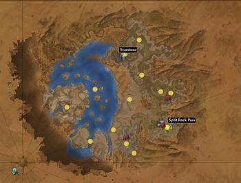 Colbalt Scar Map