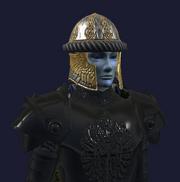 Customized Hoo'Loh's Faithful Helm (Equipped)