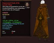 Empowered Cloak of the Lucanic Mage