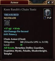 Keen Bandit's Chain Tunic