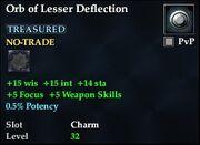 Orb of Lesser Deflection