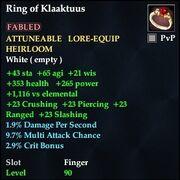 Ring of Klaaktuus