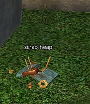 Scrap heap-used power source