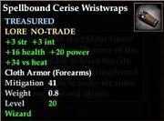 Spellbound Cerise Wristwraps