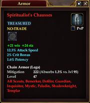 Spiritualist's Chausses
