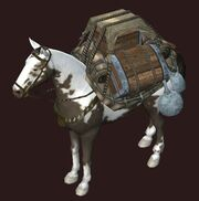 Artisan's Pack Pony visible