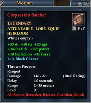 Corpseskin Satchel