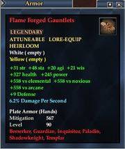 Flame Forged Gauntlets